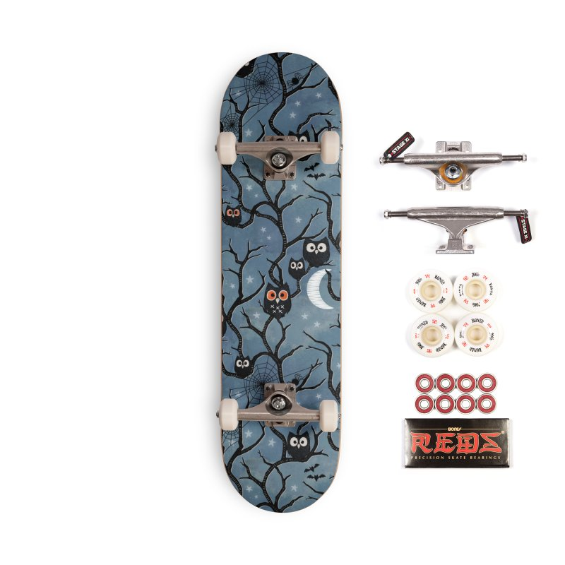 Spooky woods owls Accessories Complete - Pro Skateboard by AdenaJ