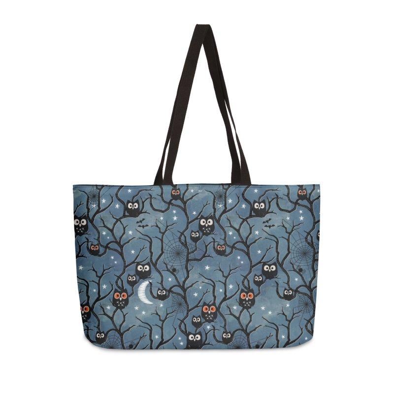 Spooky woods owls Accessories Weekender Bag Bag by AdenaJ