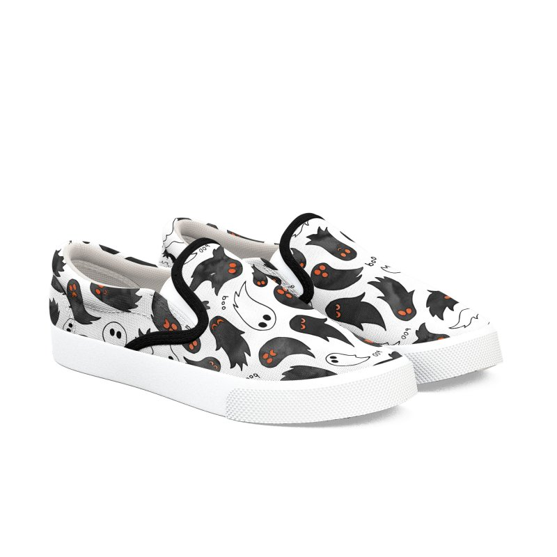 Ghosts Women's Slip-On Shoes by AdenaJ