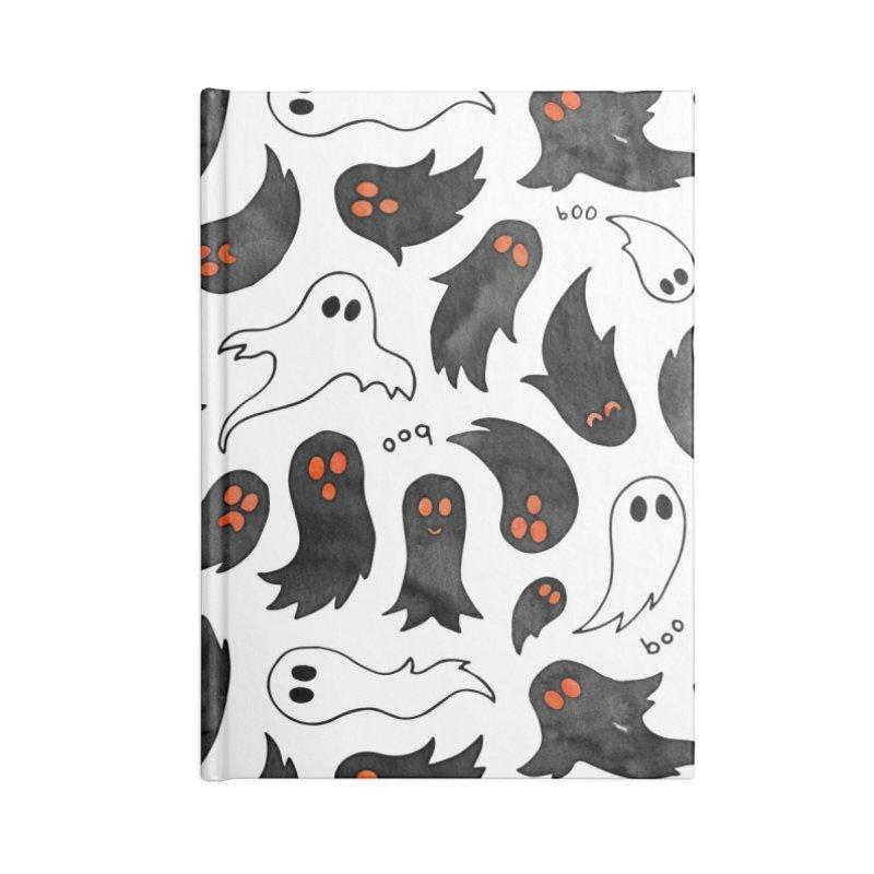 Ghosts Accessories Blank Journal Notebook by AdenaJ