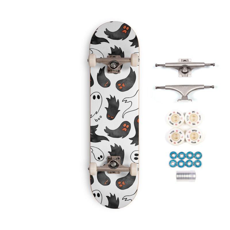 Ghosts Accessories Complete - Premium Skateboard by AdenaJ