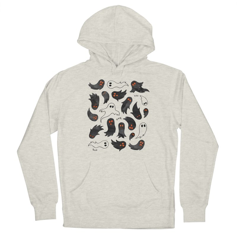 Ghosts Women's French Terry Pullover Hoody by AdenaJ