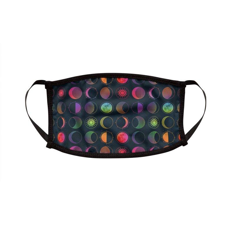 Rainbow moons Accessories Face Mask by AdenaJ