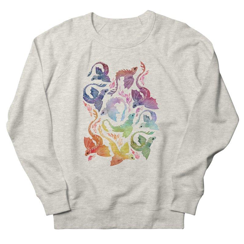 Dragon fire rainbow Women's Sweatshirt by AdenaJ