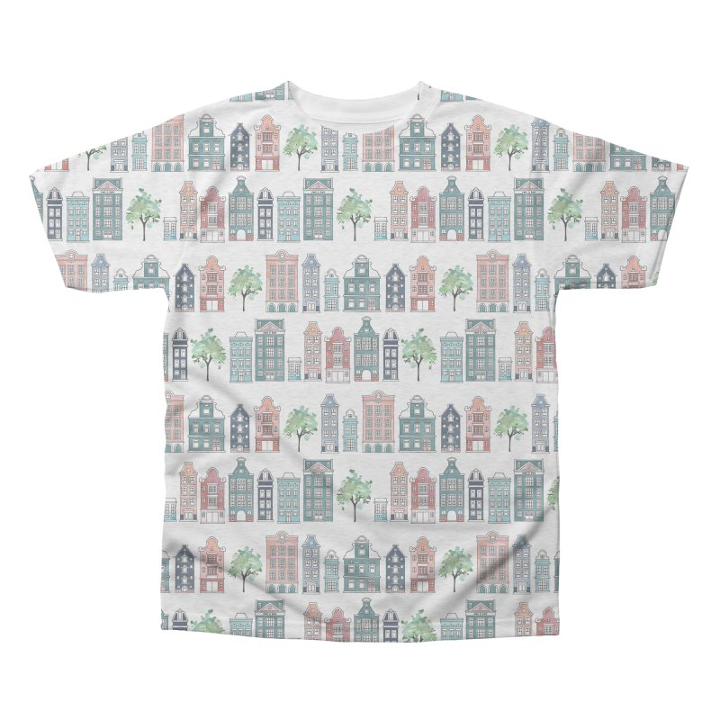 Amsterdam Neighbourhood Men's Triblend All Over Print by AdenaJ