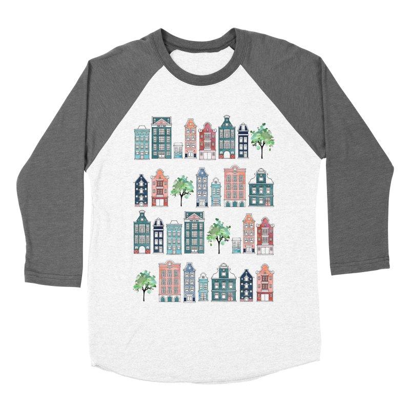 Amsterdam Neighbourhood Women's Baseball Triblend Longsleeve T-Shirt by AdenaJ