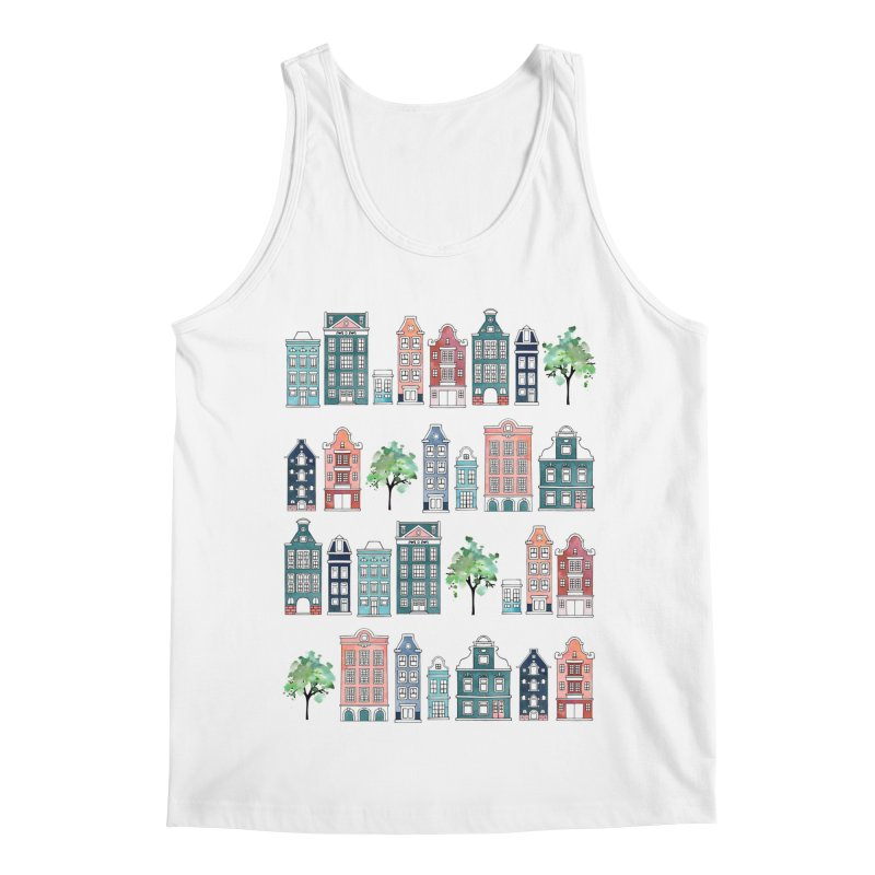 Amsterdam Neighbourhood Men's Regular Tank by AdenaJ