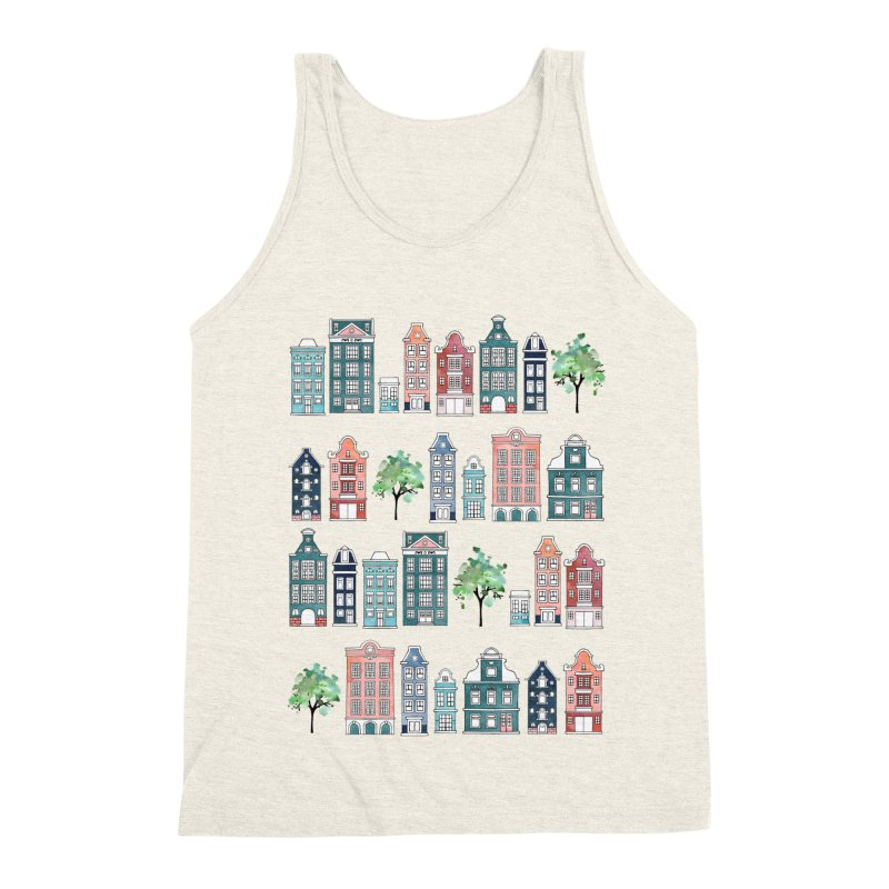 Amsterdam Neighbourhood Men's Triblend Tank by AdenaJ
