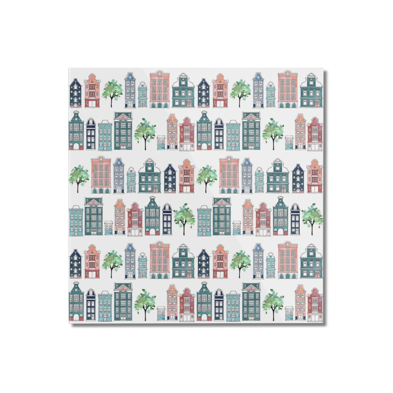 Amsterdam Neighbourhood Home Mounted Acrylic Print by AdenaJ