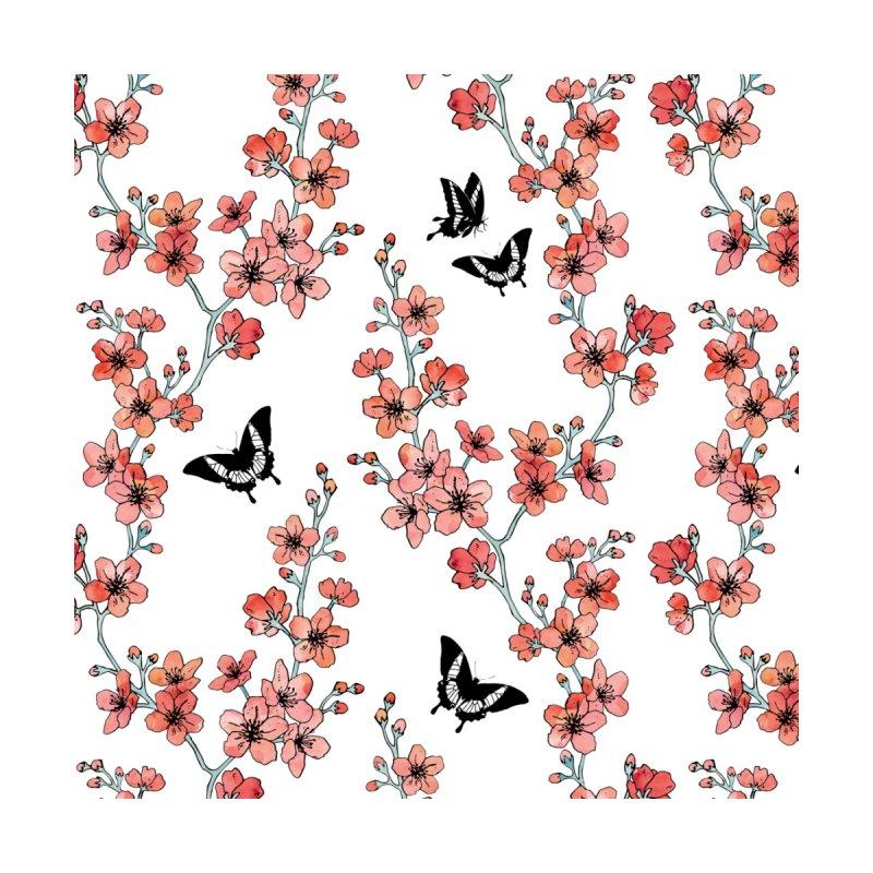 Sakura butterfly Accessories Phone Case by AdenaJ