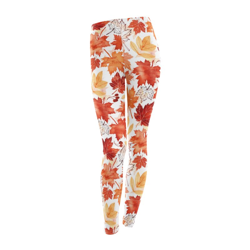 Autumn Leaves Women's Leggings Bottoms by AdenaJ