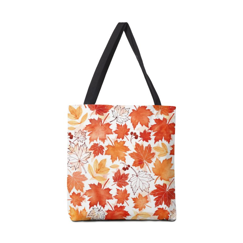 Autumn Leaves Accessories Tote Bag Bag by AdenaJ