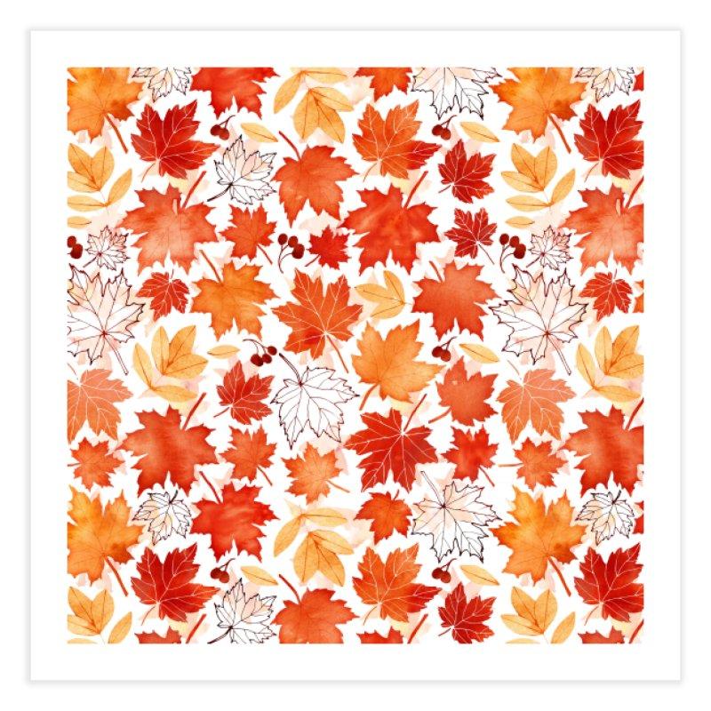 Autumn Leaves Home Fine Art Print by AdenaJ
