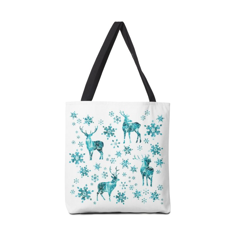 Snow deer Accessories Tote Bag Bag by AdenaJ