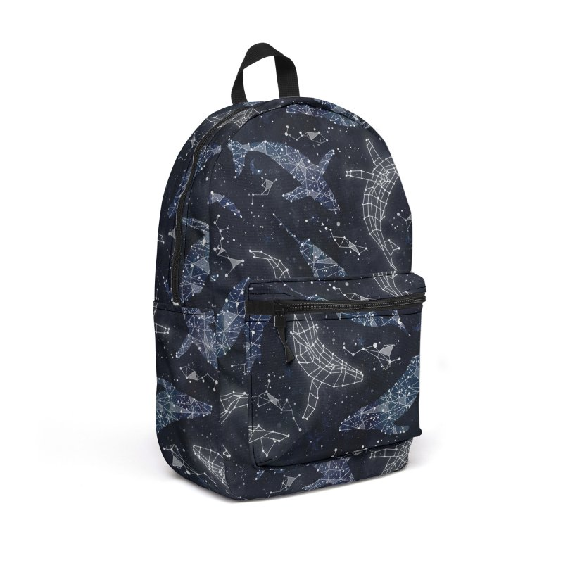 Whale constellations Accessories Backpack Bag by AdenaJ