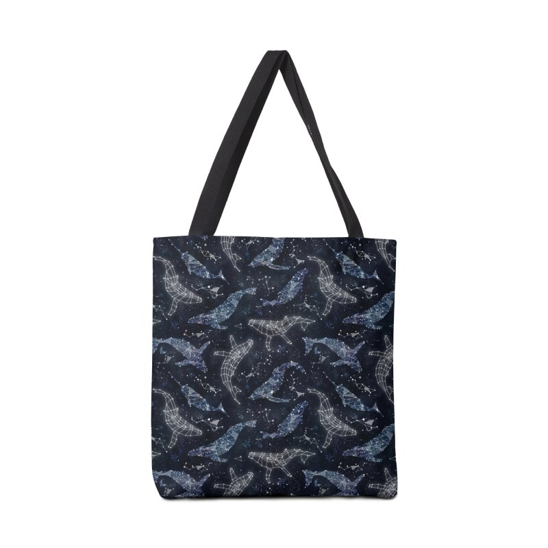 Whale constellations Accessories Tote Bag Bag by AdenaJ