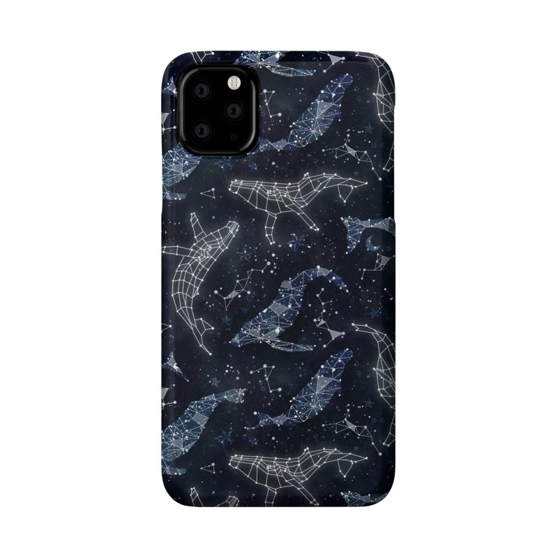 Whale constellations Accessories Phone Case by AdenaJ