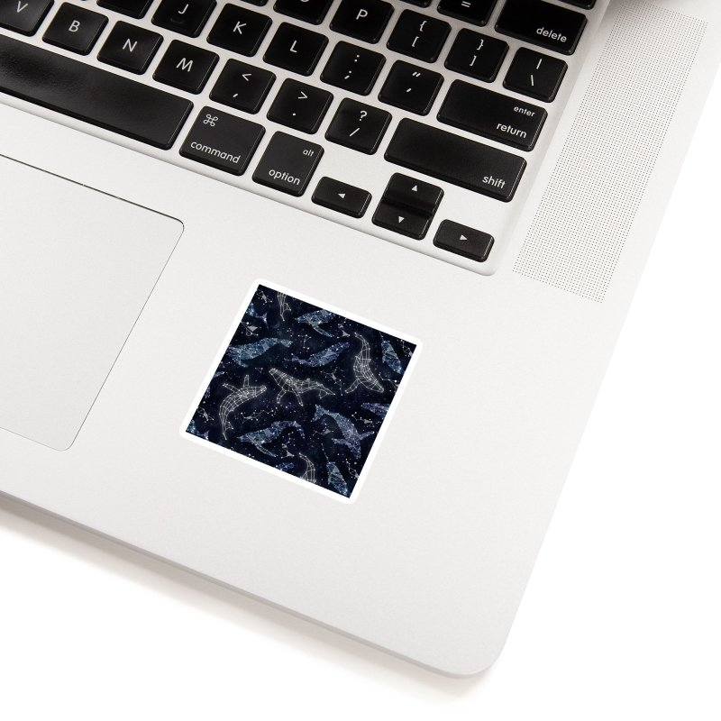 Whale constellations Accessories Sticker by AdenaJ