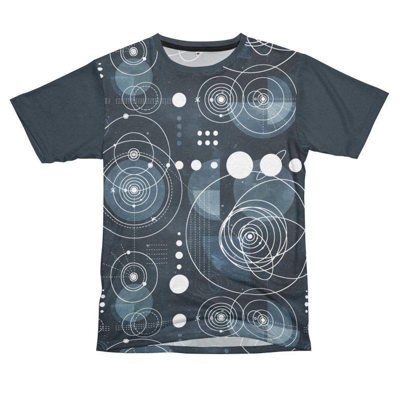 Bauhaus galaxy Women's Unisex French Terry T-Shirt Cut & Sew by AdenaJ
