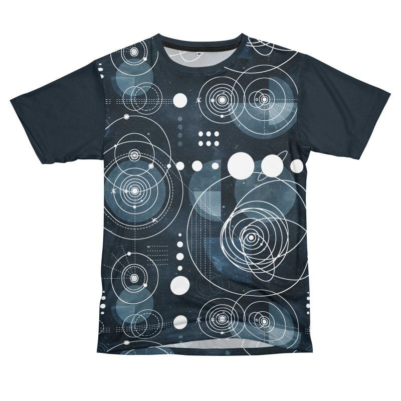 Bauhaus galaxy Women's Unisex T-Shirt Cut & Sew by AdenaJ