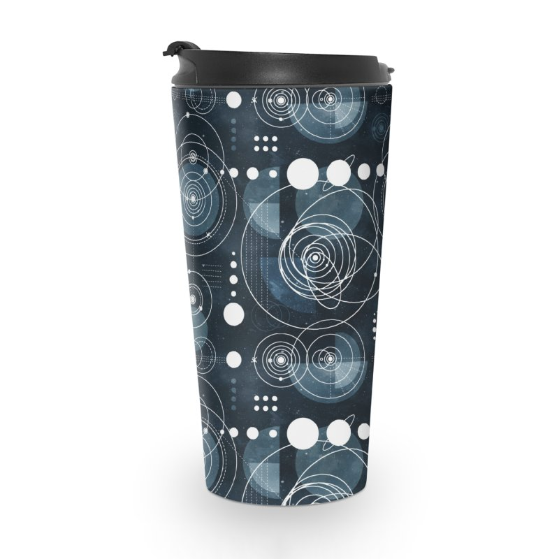 Bauhaus galaxy Accessories Travel Mug by AdenaJ