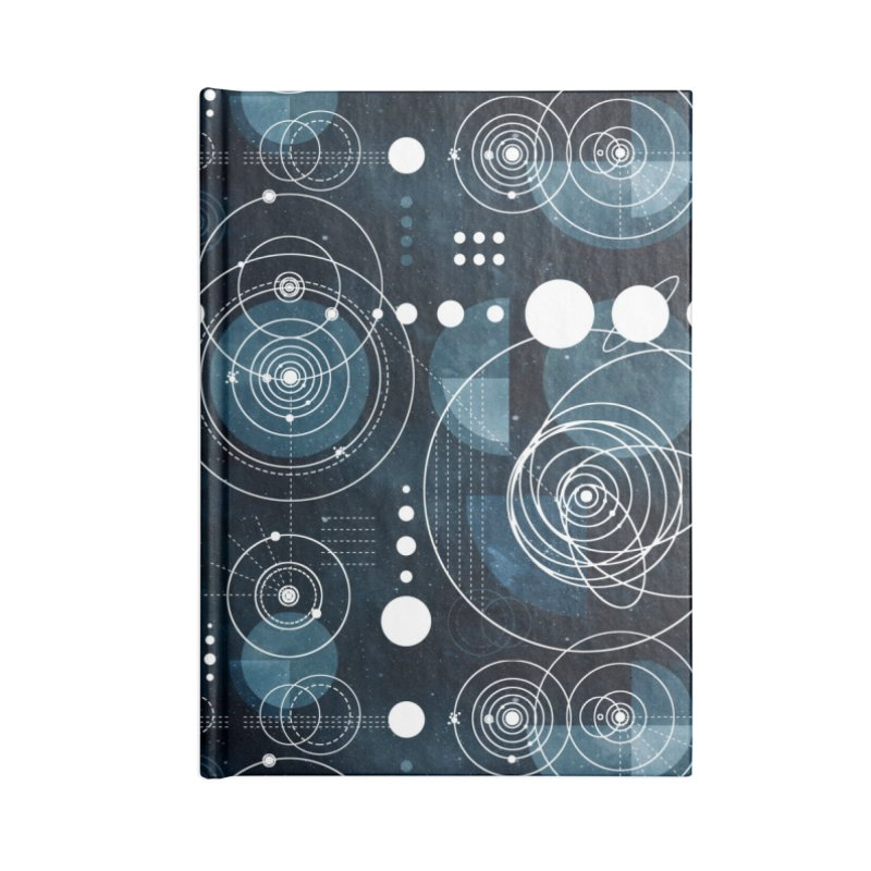 Bauhaus galaxy Accessories Lined Journal Notebook by AdenaJ
