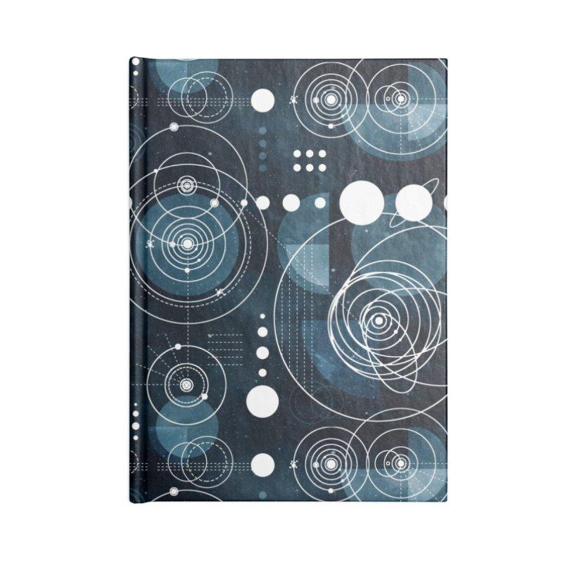 Bauhaus galaxy Accessories Blank Journal Notebook by AdenaJ