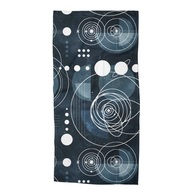 Bauhaus galaxy Accessories Beach Towel by AdenaJ