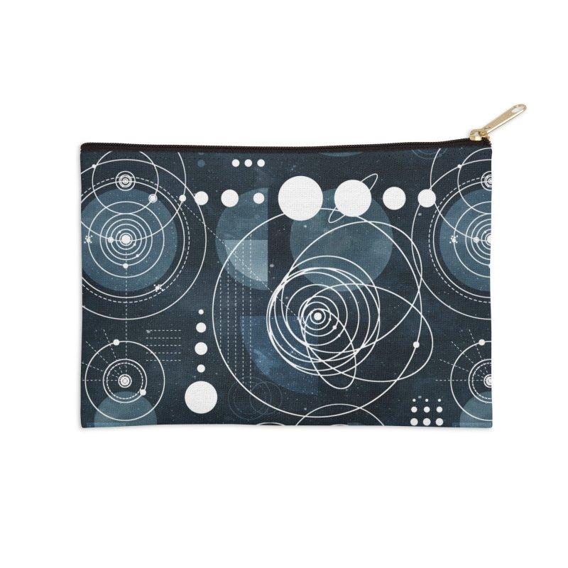 Bauhaus galaxy Accessories Zip Pouch by AdenaJ