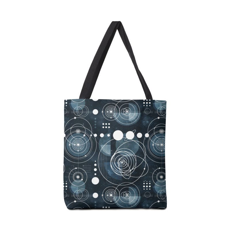 Bauhaus galaxy Accessories Tote Bag Bag by AdenaJ