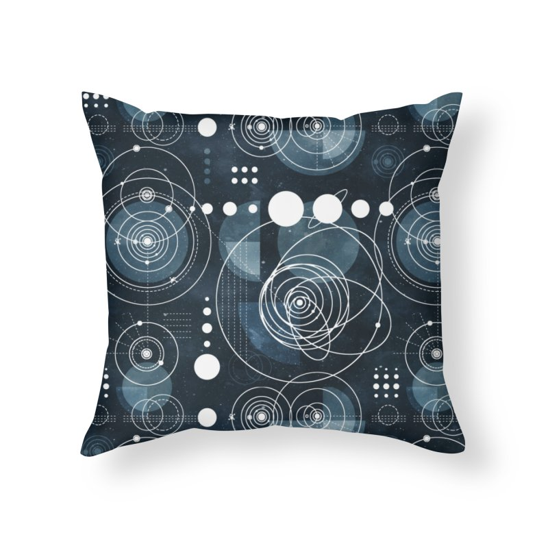 Bauhaus galaxy Home Throw Pillow by AdenaJ
