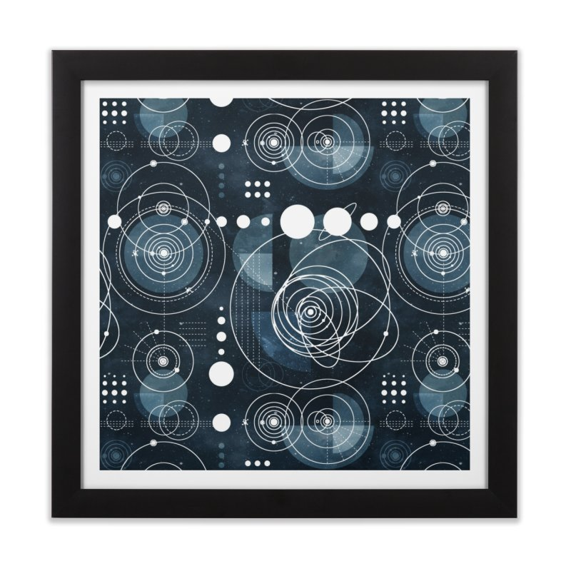 Bauhaus galaxy Home Framed Fine Art Print by AdenaJ