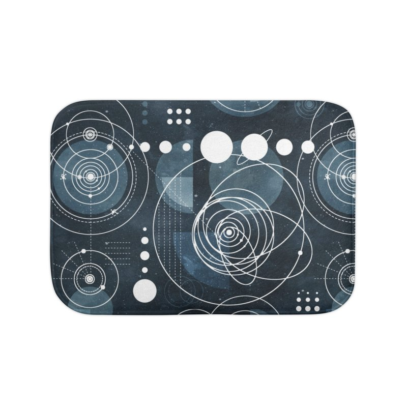 Bauhaus galaxy Home Bath Mat by AdenaJ