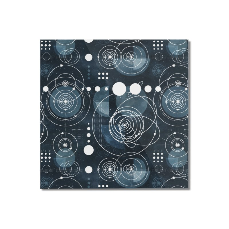 Bauhaus galaxy Home Mounted Acrylic Print by AdenaJ