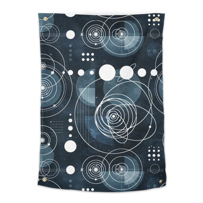 Bauhaus galaxy Home Tapestry by AdenaJ