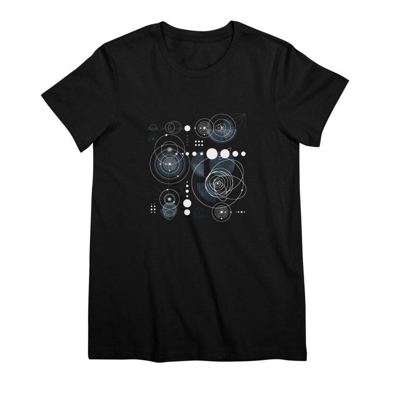 Bauhaus galaxy Women's Premium T-Shirt by AdenaJ