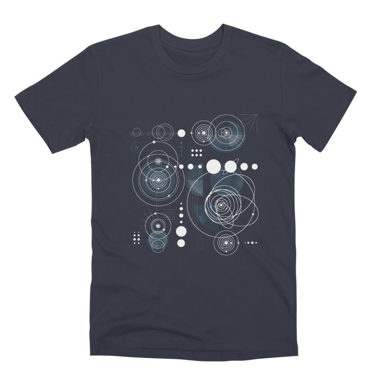 Bauhaus galaxy Men's Premium T-Shirt by AdenaJ
