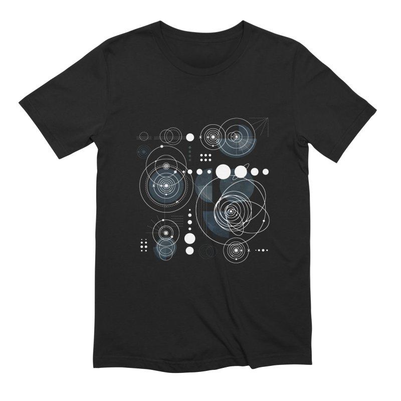 Bauhaus galaxy Men's Extra Soft T-Shirt by AdenaJ