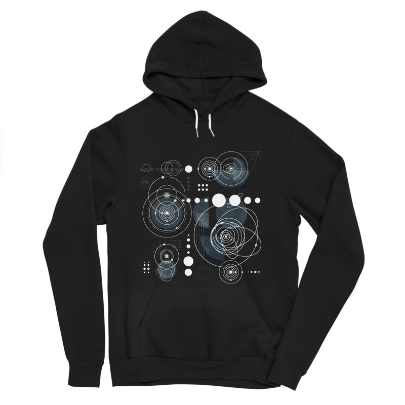 Bauhaus galaxy Women's Sponge Fleece Pullover Hoody by AdenaJ