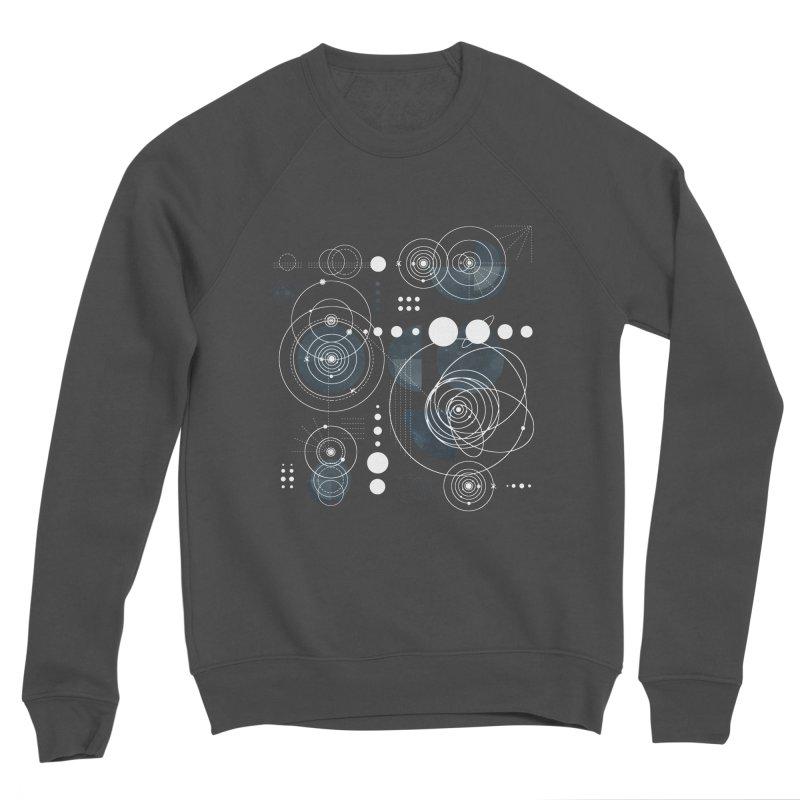 Bauhaus galaxy Men's Sponge Fleece Sweatshirt by AdenaJ