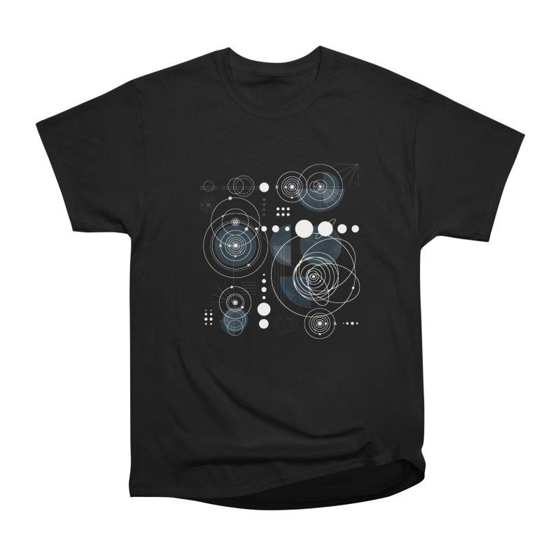 Bauhaus galaxy Men's Heavyweight T-Shirt by AdenaJ