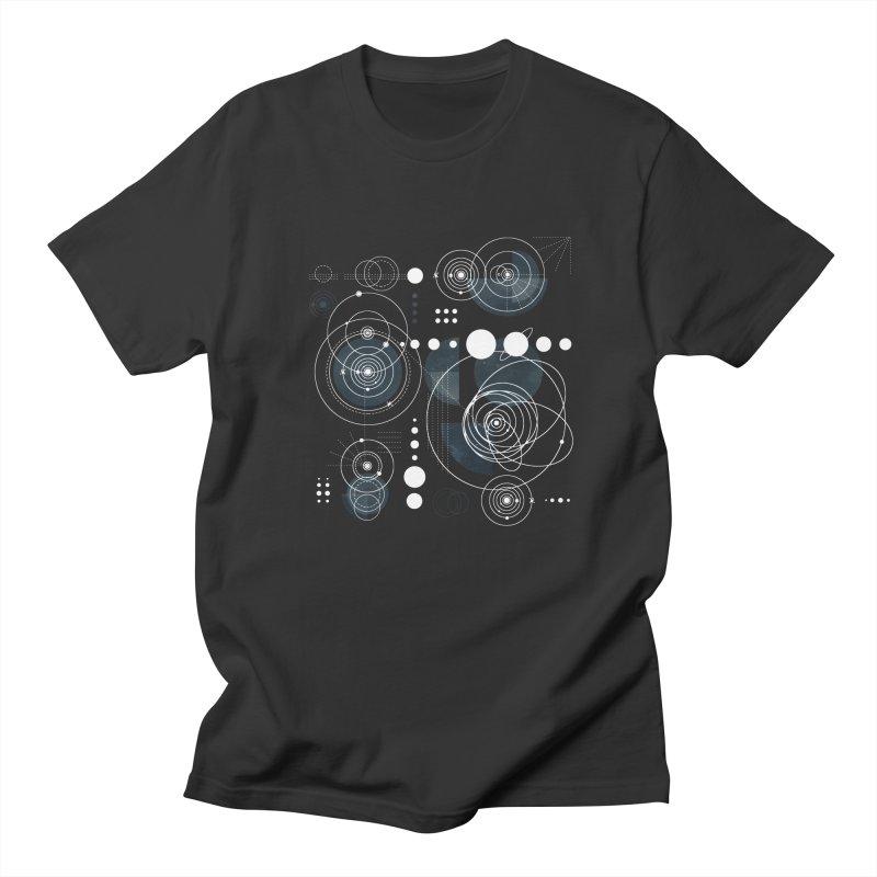 Bauhaus galaxy Men's Regular T-Shirt by AdenaJ