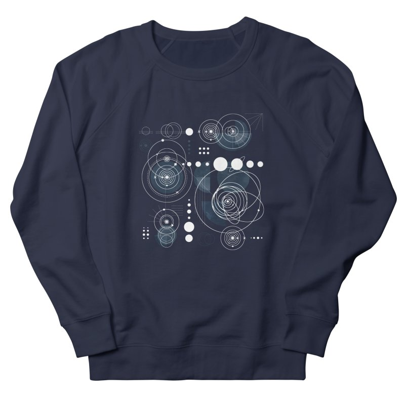 Bauhaus galaxy Men's French Terry Sweatshirt by AdenaJ