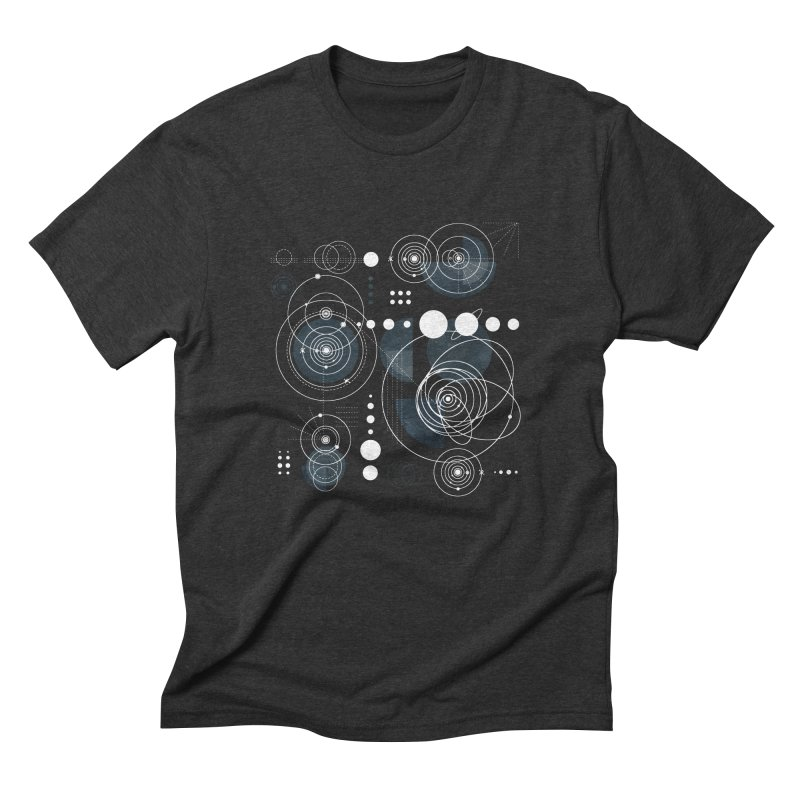 Bauhaus galaxy Men's Triblend T-Shirt by AdenaJ