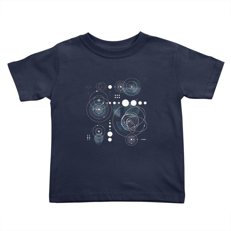 Bauhaus galaxy Kids Toddler T-Shirt by AdenaJ