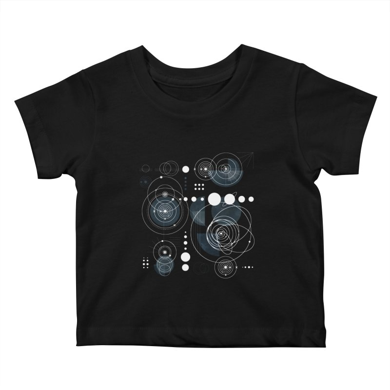 Bauhaus galaxy Kids Baby T-Shirt by AdenaJ