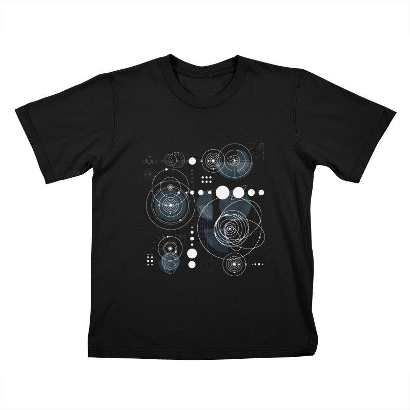 Bauhaus galaxy Kids T-Shirt by AdenaJ