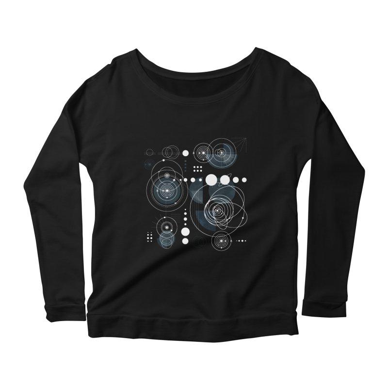 Bauhaus galaxy Women's Scoop Neck Longsleeve T-Shirt by AdenaJ