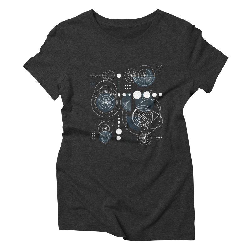 Bauhaus galaxy Women's Triblend T-Shirt by AdenaJ