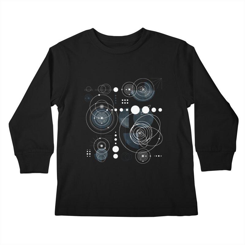 Bauhaus galaxy Kids Longsleeve T-Shirt by AdenaJ